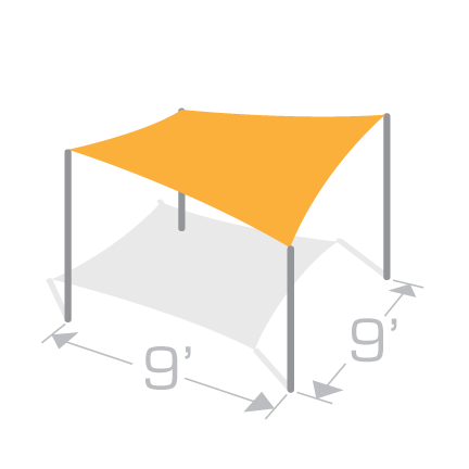 SS-9 Shade Structure Kit