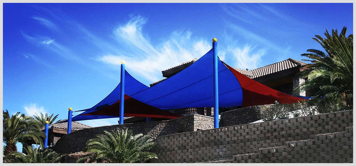 Shade Sail Shade Structure Pool Swing Photos Tenshon