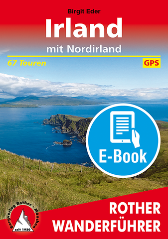 Rother Wanderführer Irland E-Book