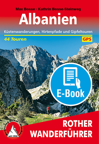 Rother Wanderführer Albanien, E-Book