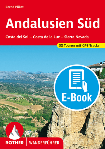 Rother Wanderführer Andalusien Süd, E-Book