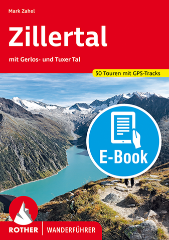 Zillertal - Rother Wanderführer Ebook