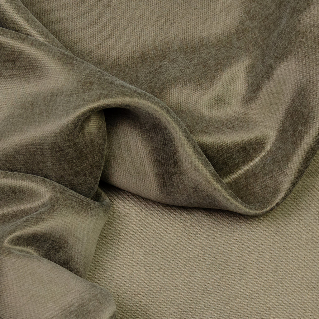 Alexandra Khaki  Cotton Sateen