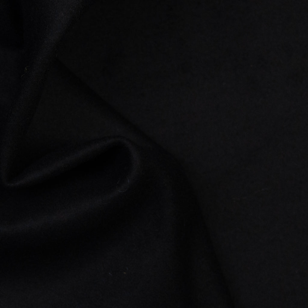 Akia Night Black Wool