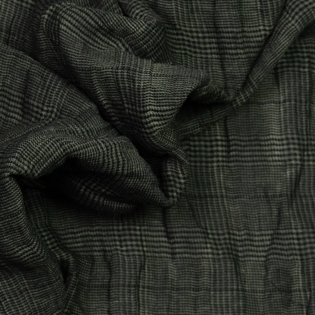 Alfred Grey Plaid Polycotton