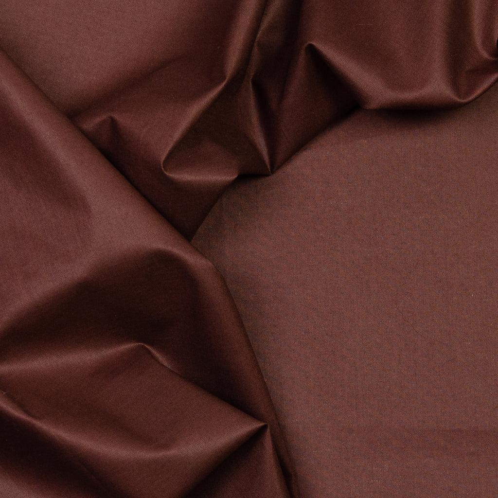Harper Chocolate Cotton Voile