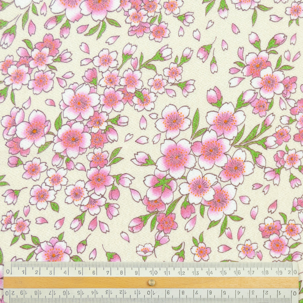 Aaron Floral Print Polyester