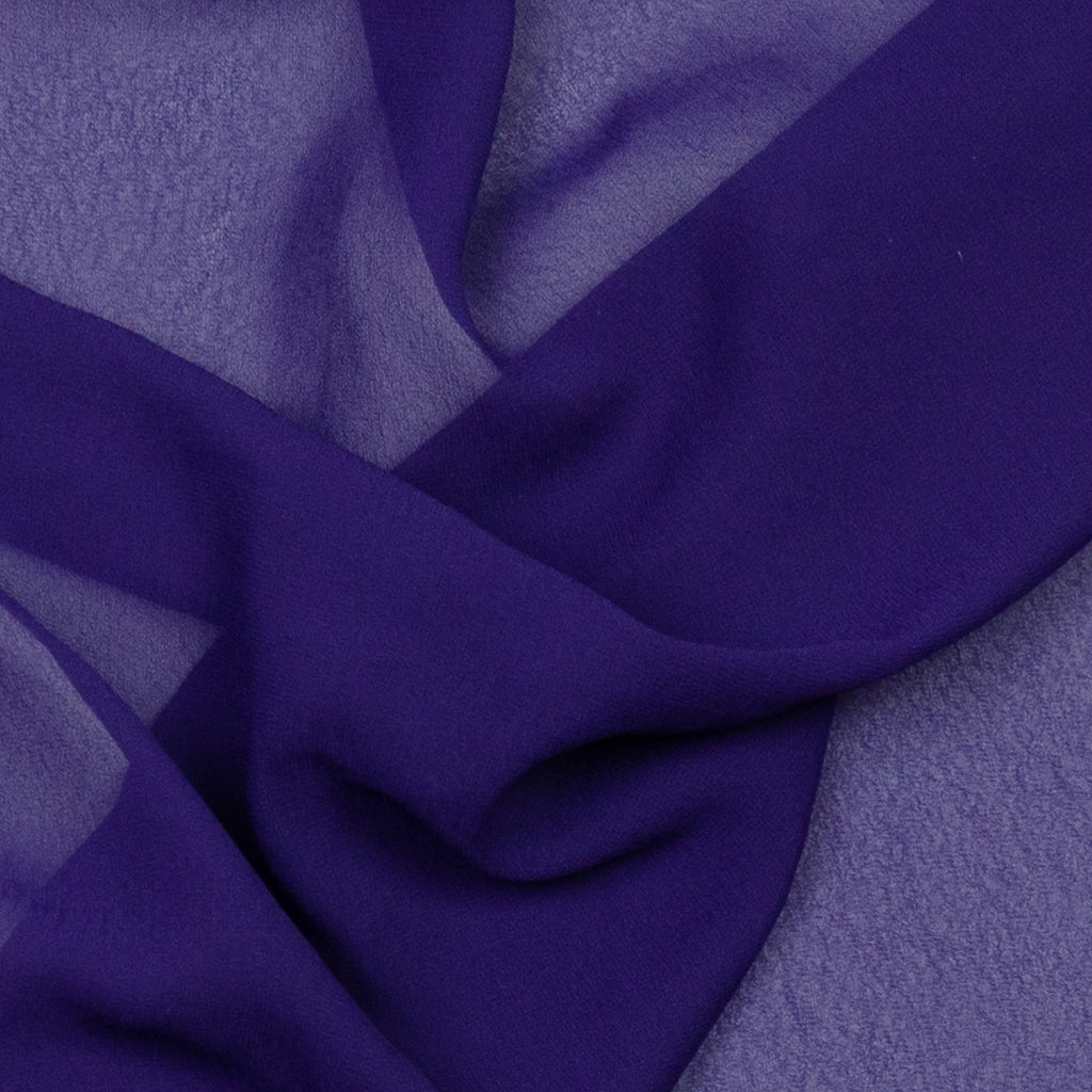 Aloha Purple Polyester Voile