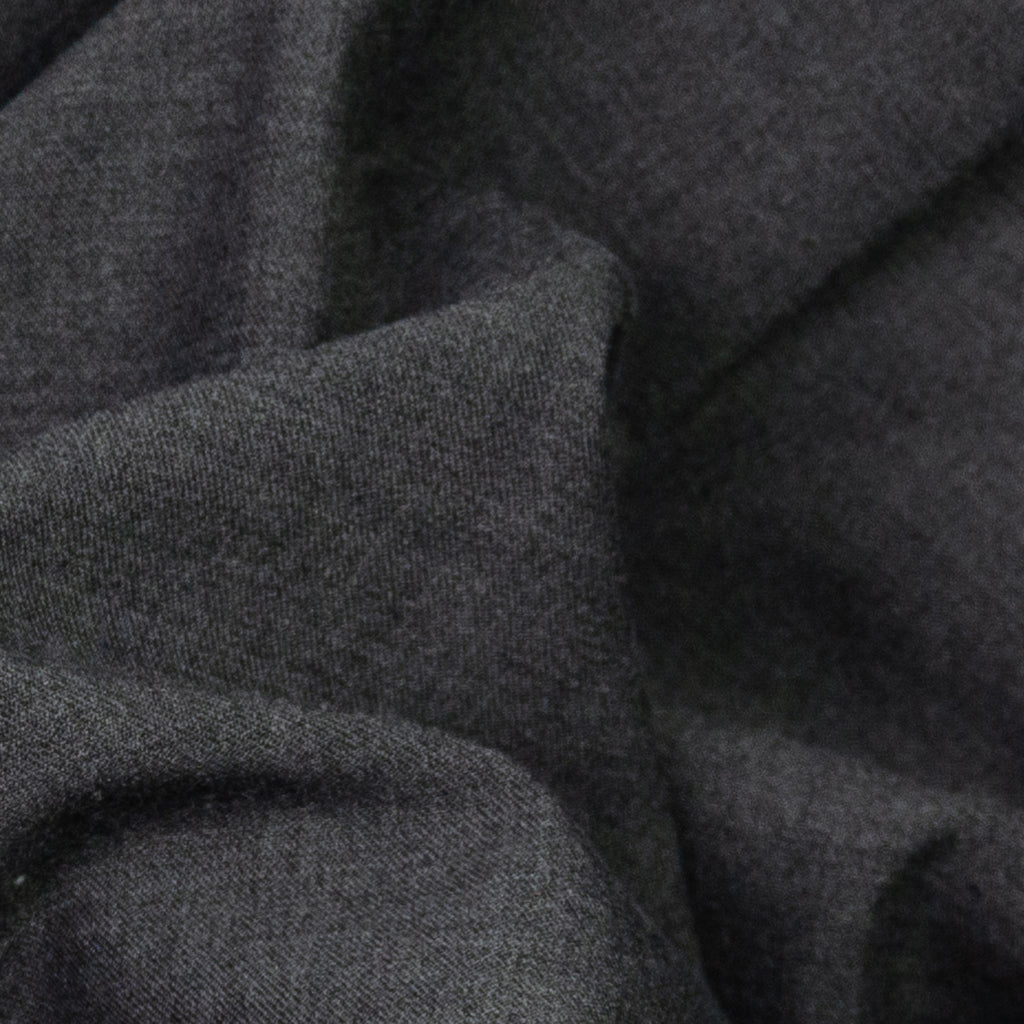 Alake Anthracite Grey Stretch Wool