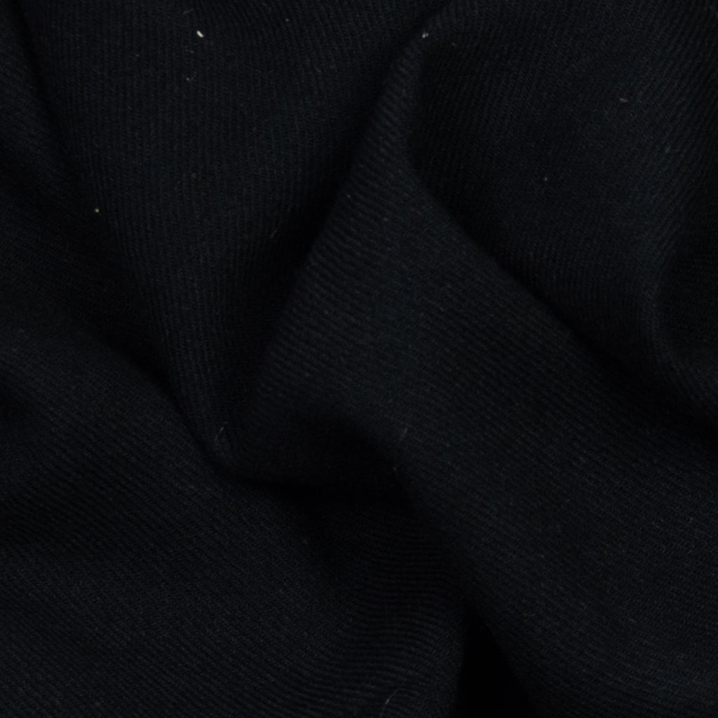 Ailil Obscure Black Viscose Wool Blend