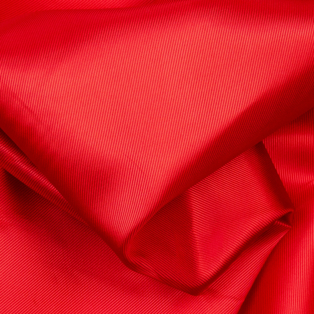 Aleda Red Twill Acetate Lining