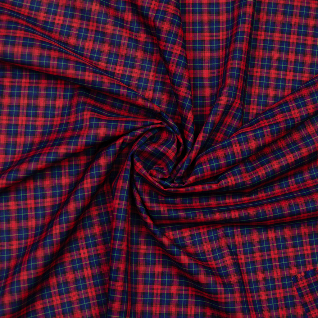 Abdiel Red Plaid Cotton