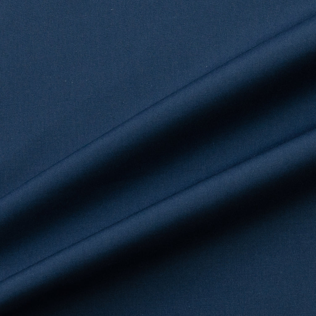 Akram Dusty Blue Cotton Poplin