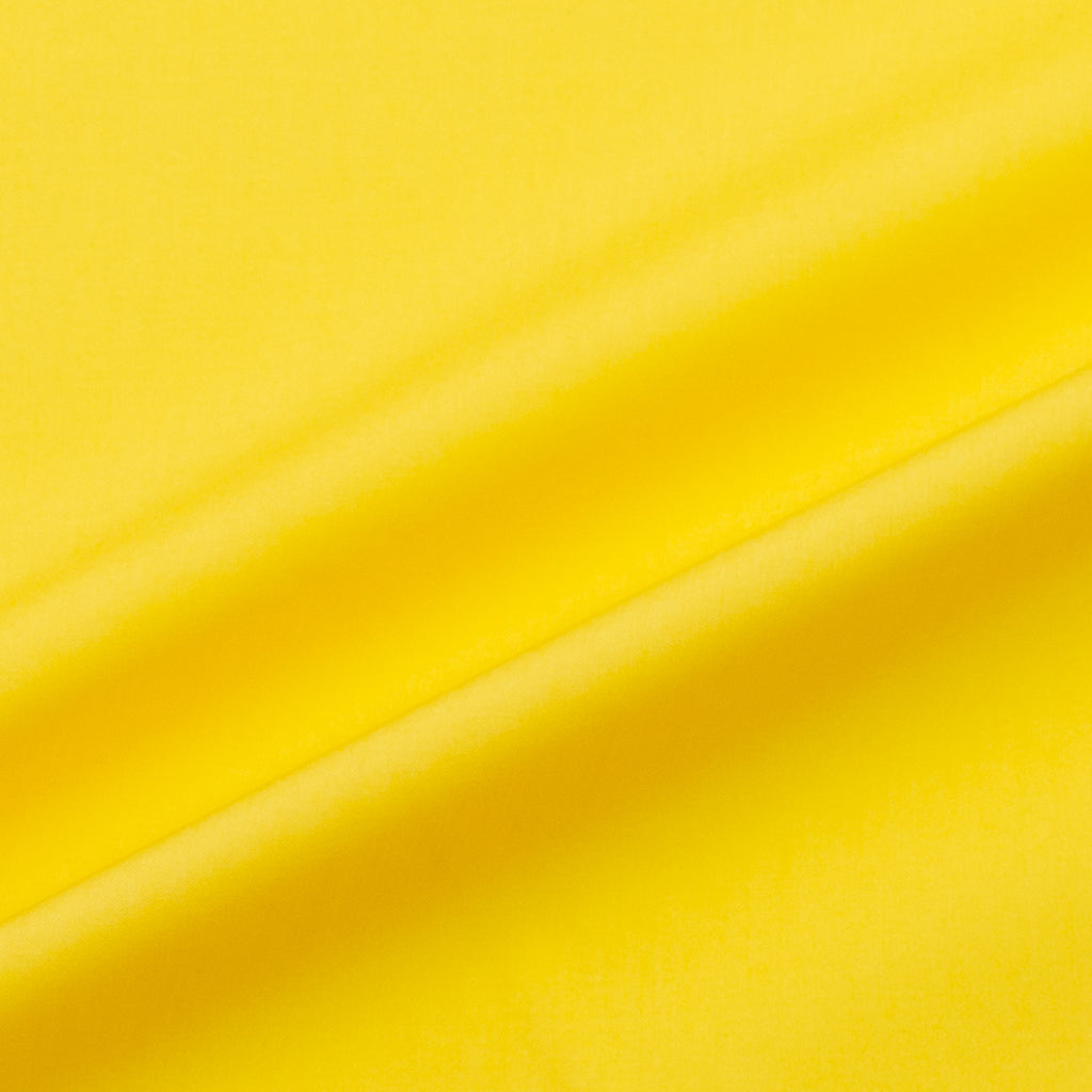 Stacy Canary Yellow Cotton Poplin