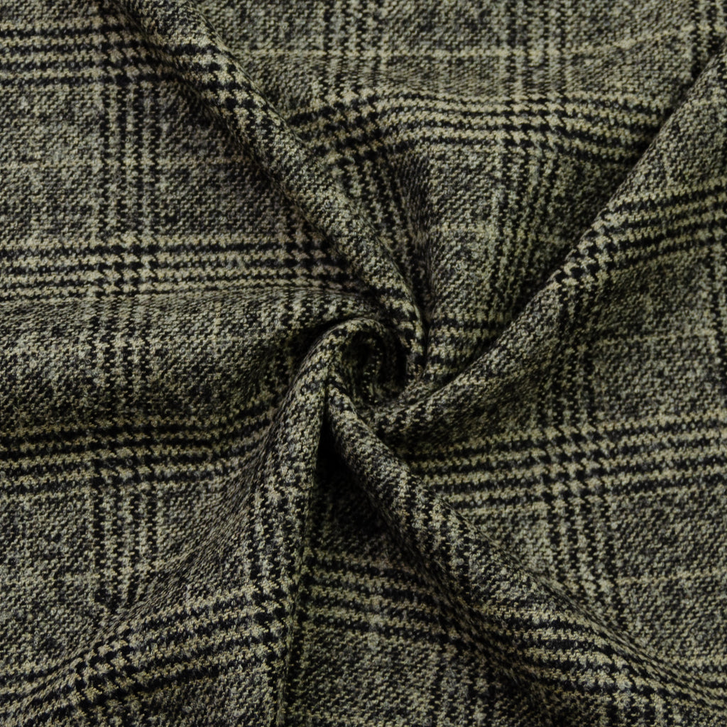 Louis Beige Plaid Wool