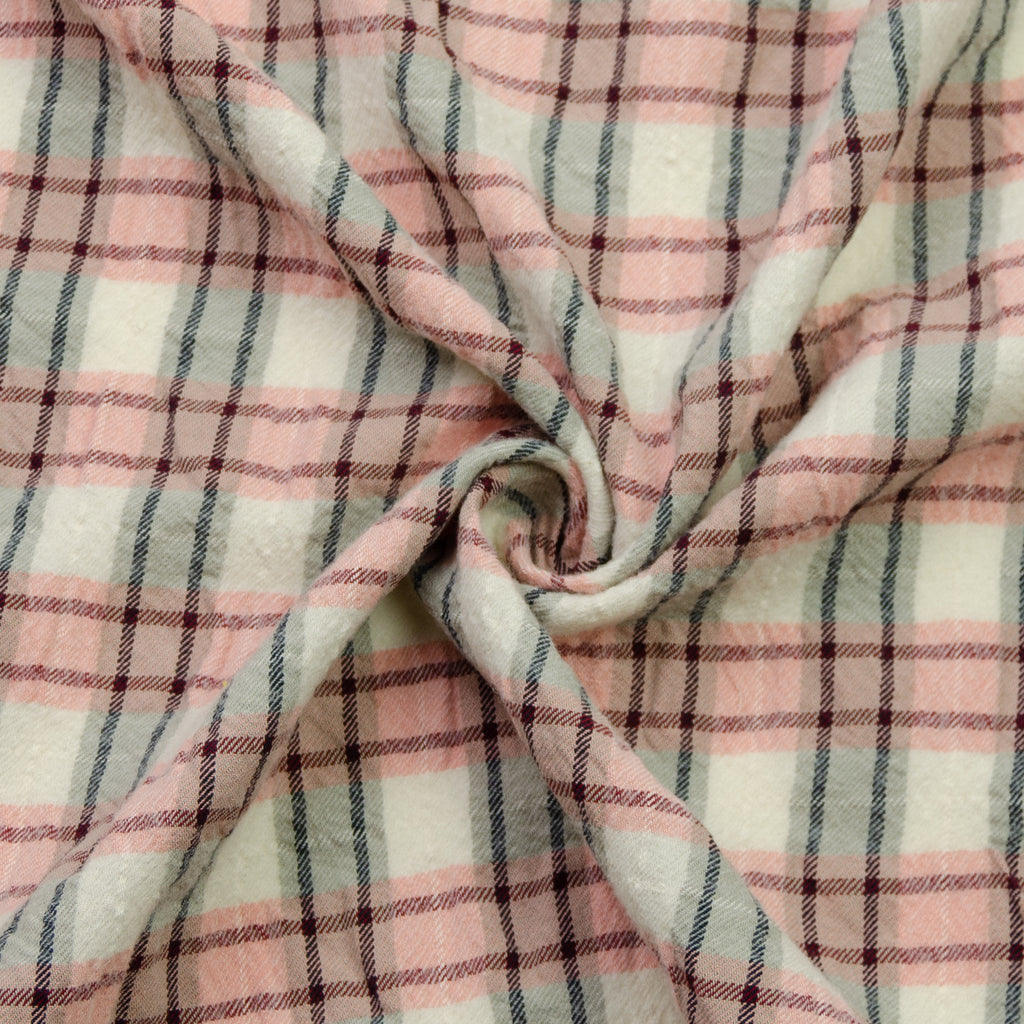 Aislinn Pink Cotton Plaid