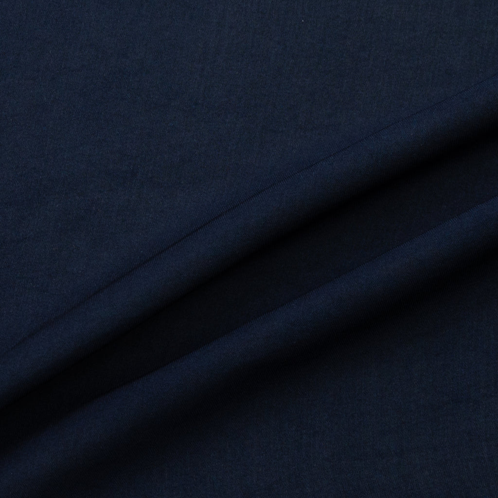 Ailis Blue Polyester Twill Voile