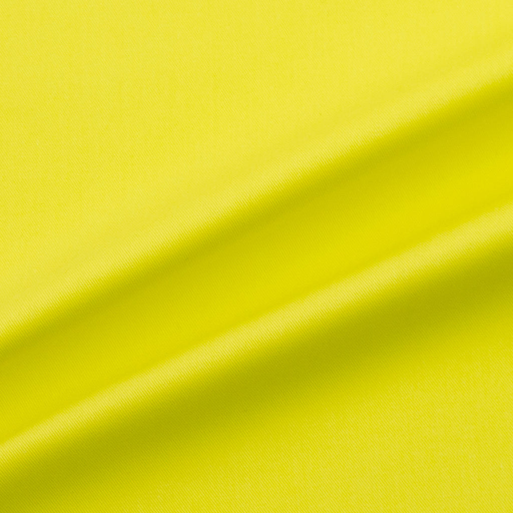 Scarlet Lemon Cotton Gabardine