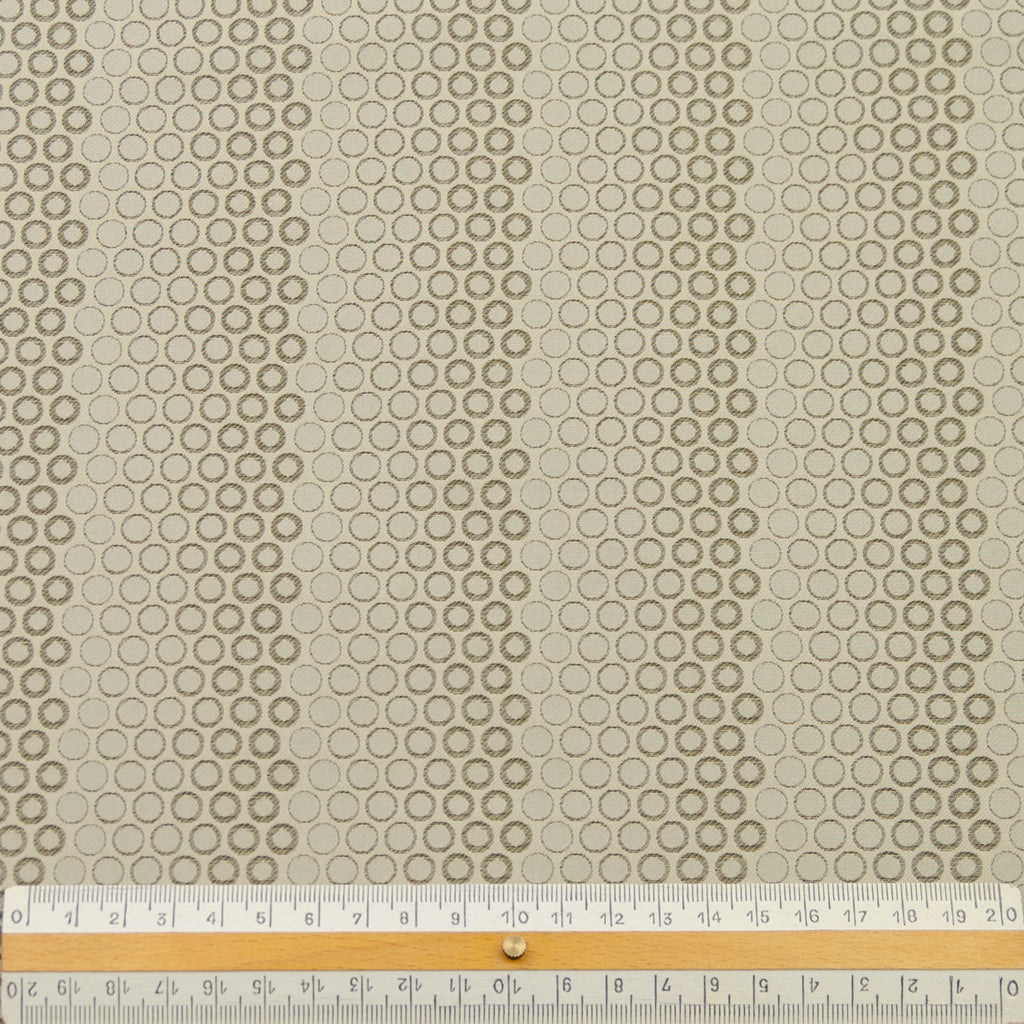 Alejandra Beige Dotted Polyester Lining