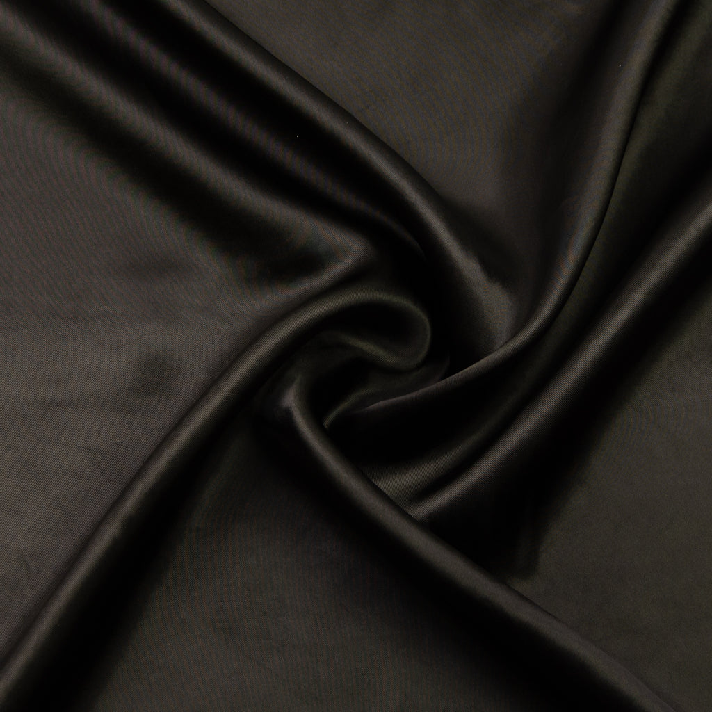 Afia Brown Satin Polyester Lining