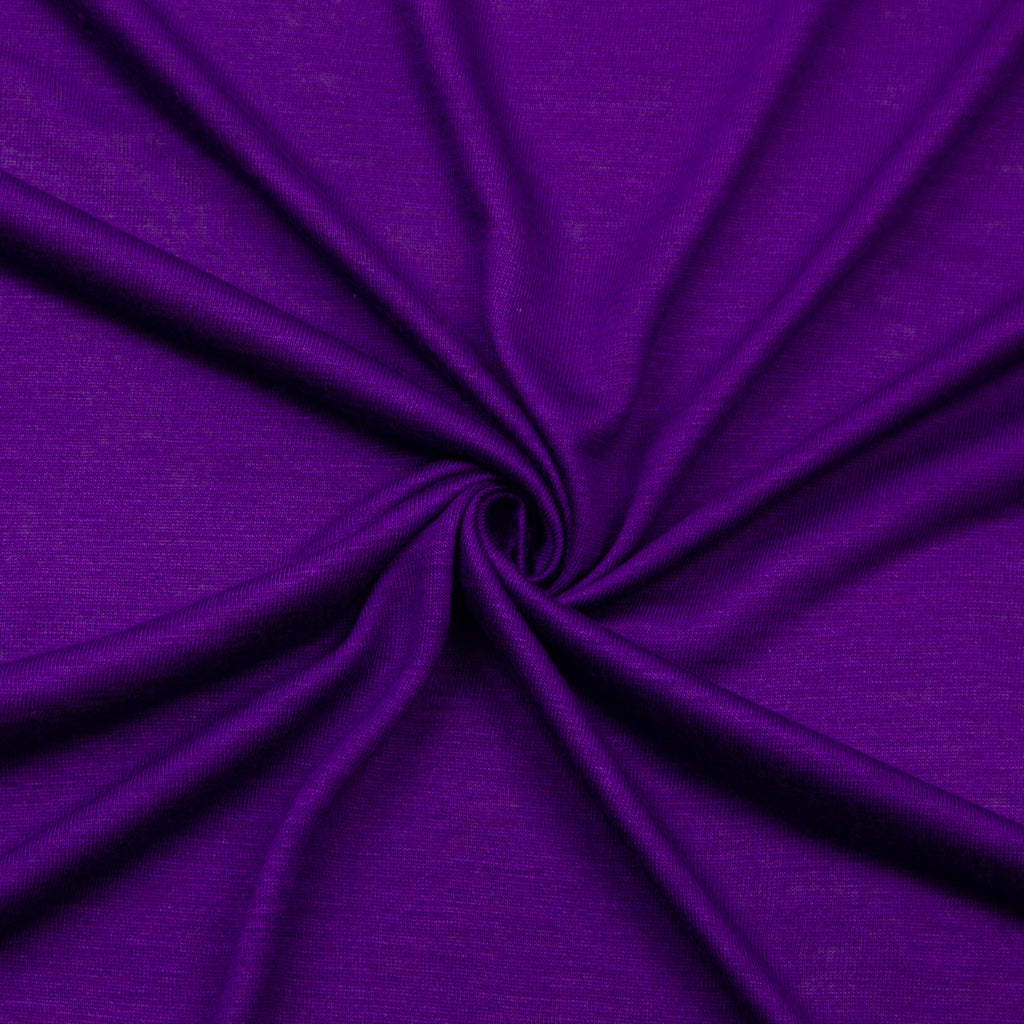 Aleah Purple Cotton Jersey