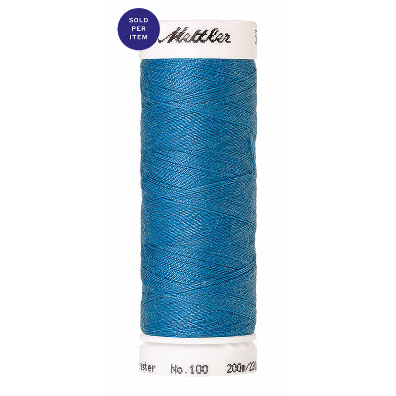 Sewing thread Seralon 0022 Wave Blue