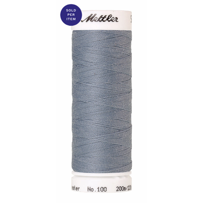 Sewing thread Seralon 0042 Ash Blue