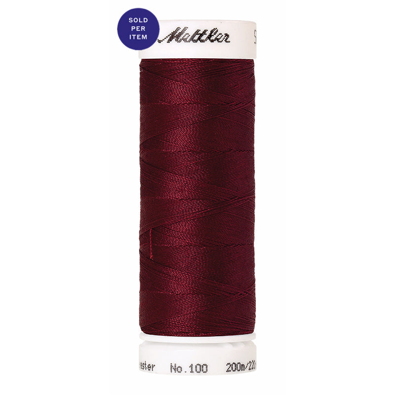 Sewing thread Seralon 0098 Crimson