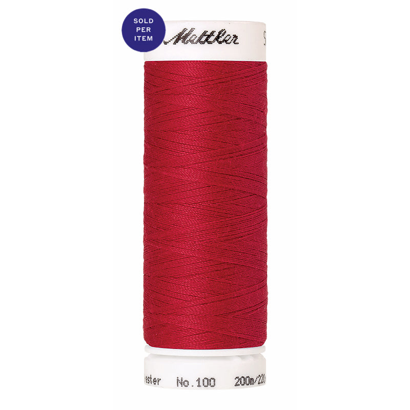 Sewing thread Seralon 0102 Poinsettia