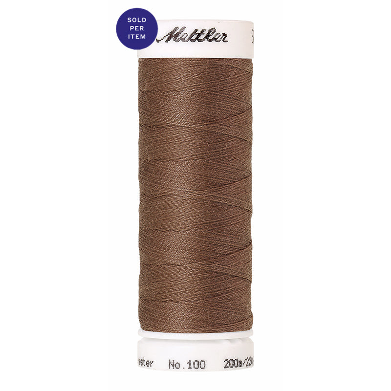 Sewing thread Seralon 0387 Brown Mushroom