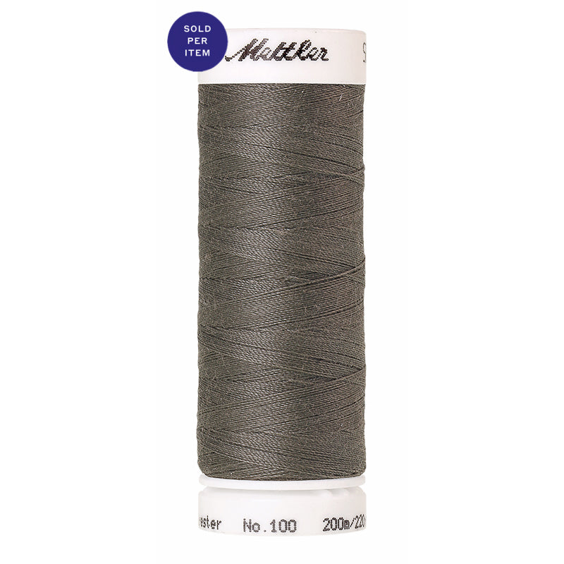 Sewing thread Seralon 0413 Titan Gray