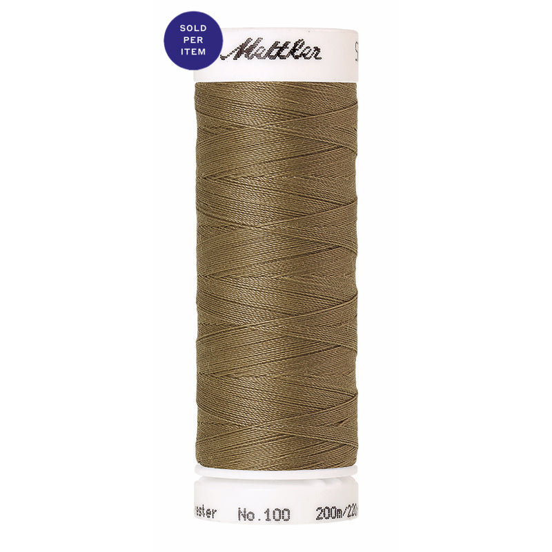 Sewing thread Seralon 0464 Dried Reed
