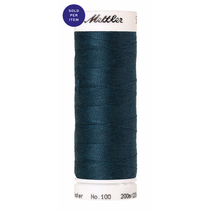 Sewing thread Seralon 0485 Tartan Blue