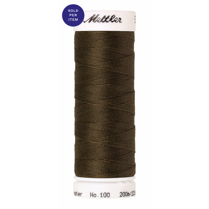 Sewing thread Seralon 0667 Golden Brown