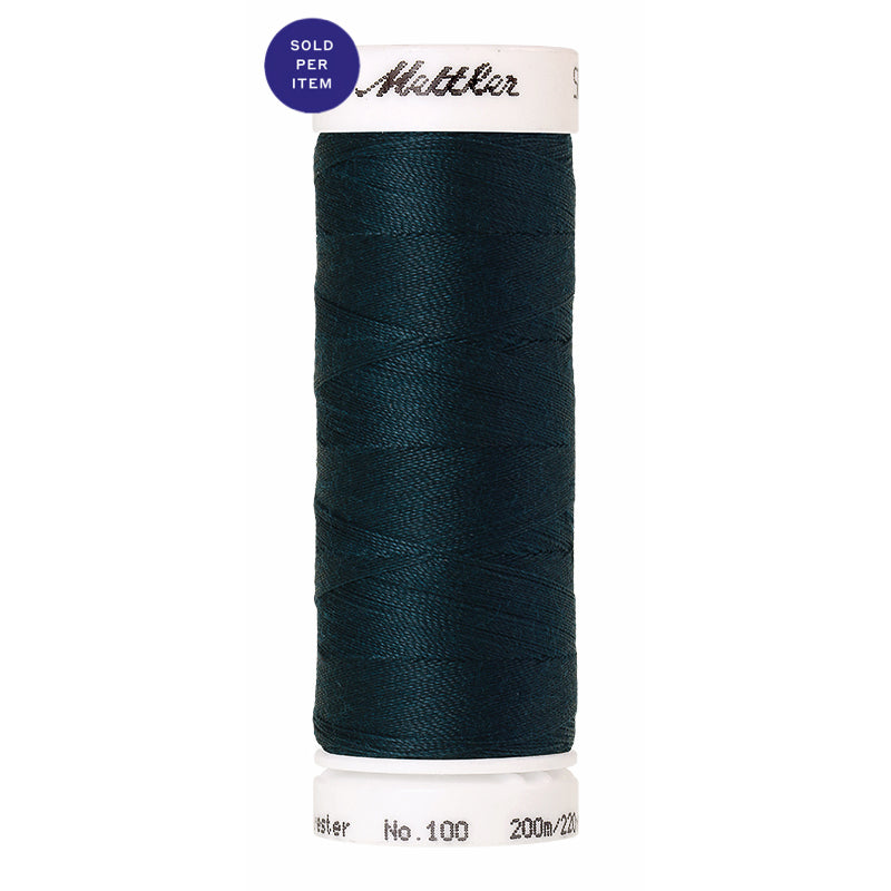 Sewing thread Seralon 0763 Dark Greenish Blue
