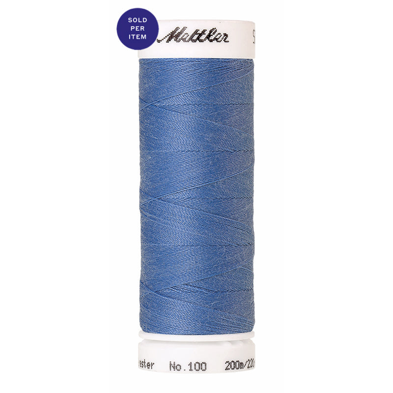 Sewing thread Seralon 0819 Blue Bird