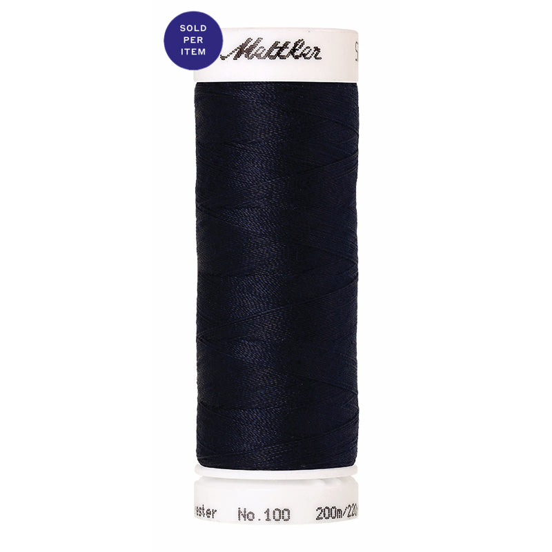 Sewing thread Seralon 0827 Dark Blue
