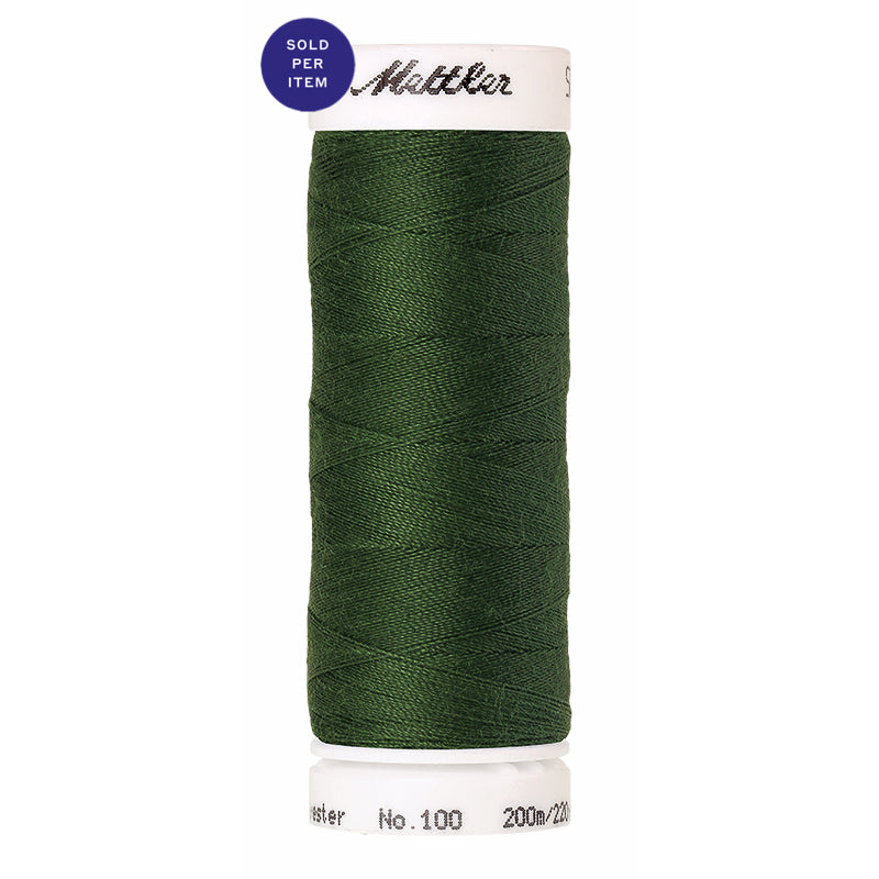 Sewing thread Seralon 0842 Backyard Green