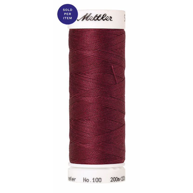 Sewing thread Seralon 0871 Red Marble