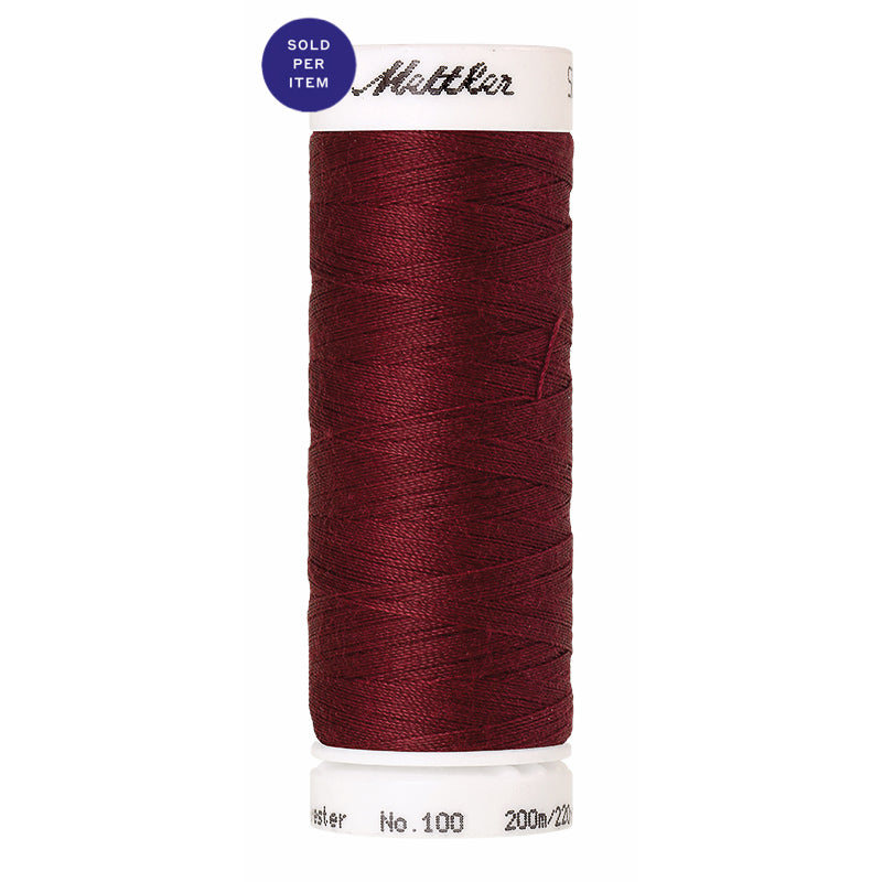 Sewing thread Seralon 0918 Cranberry