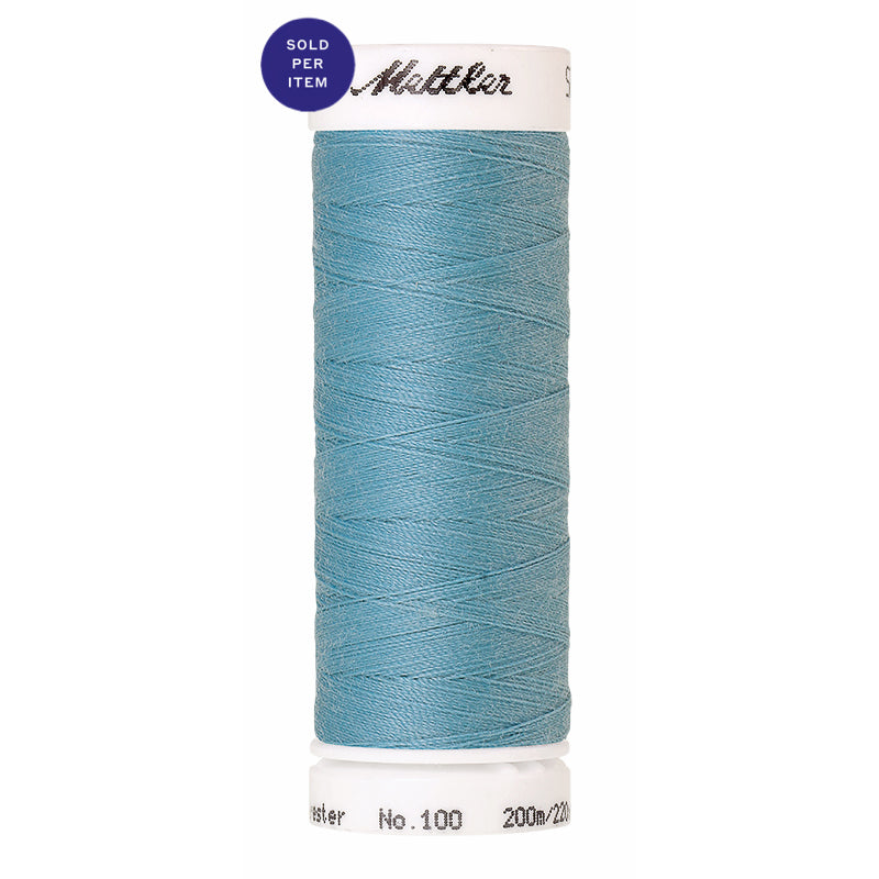 Sewing thread Seralon 0998 Crystal Blue