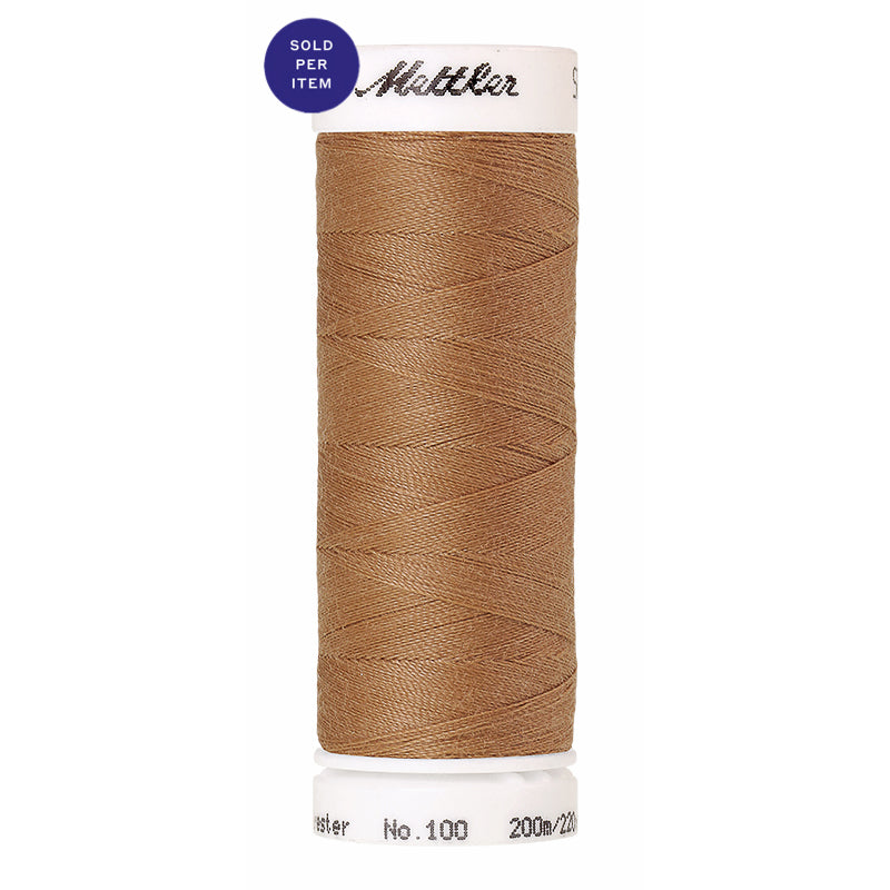 Sewing thread Seralon 1121 Toffee
