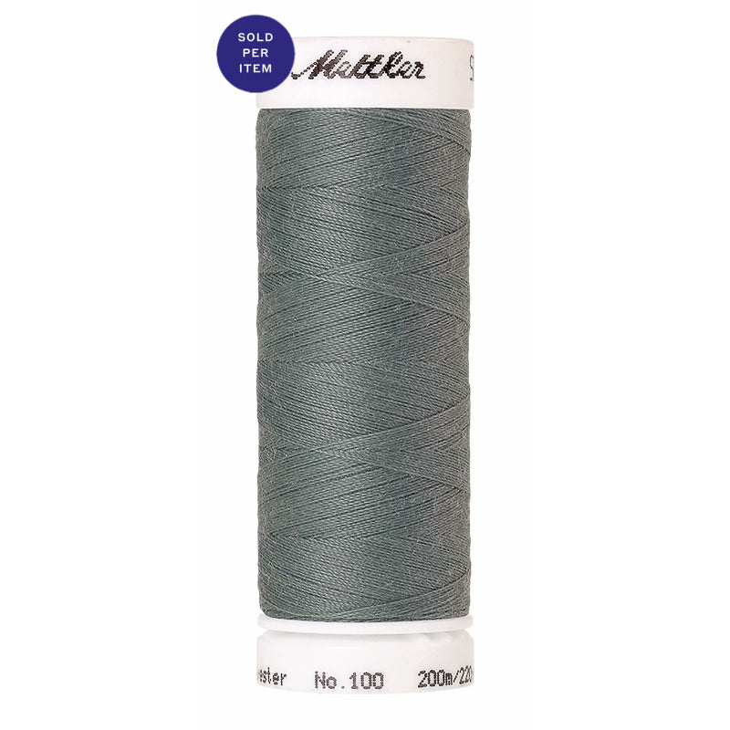 Sewing thread Seralon 1214 Vintage Blue