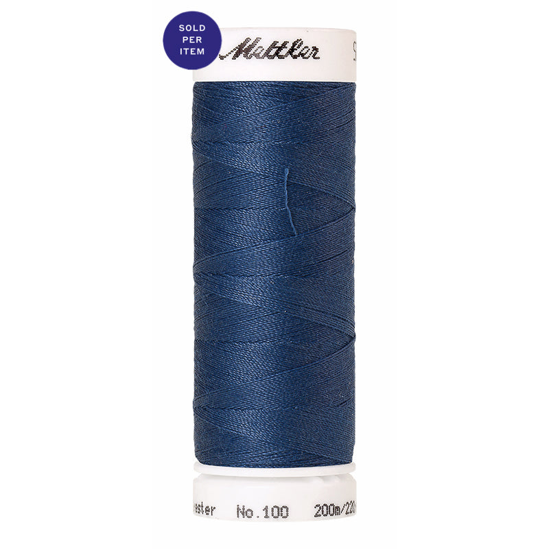 Sewing thread Seralon 1316 Steel Blue