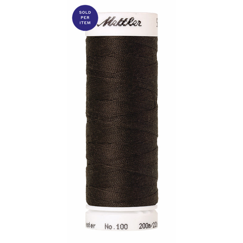 Sewing thread Seralon 1382 Black Peppercorn