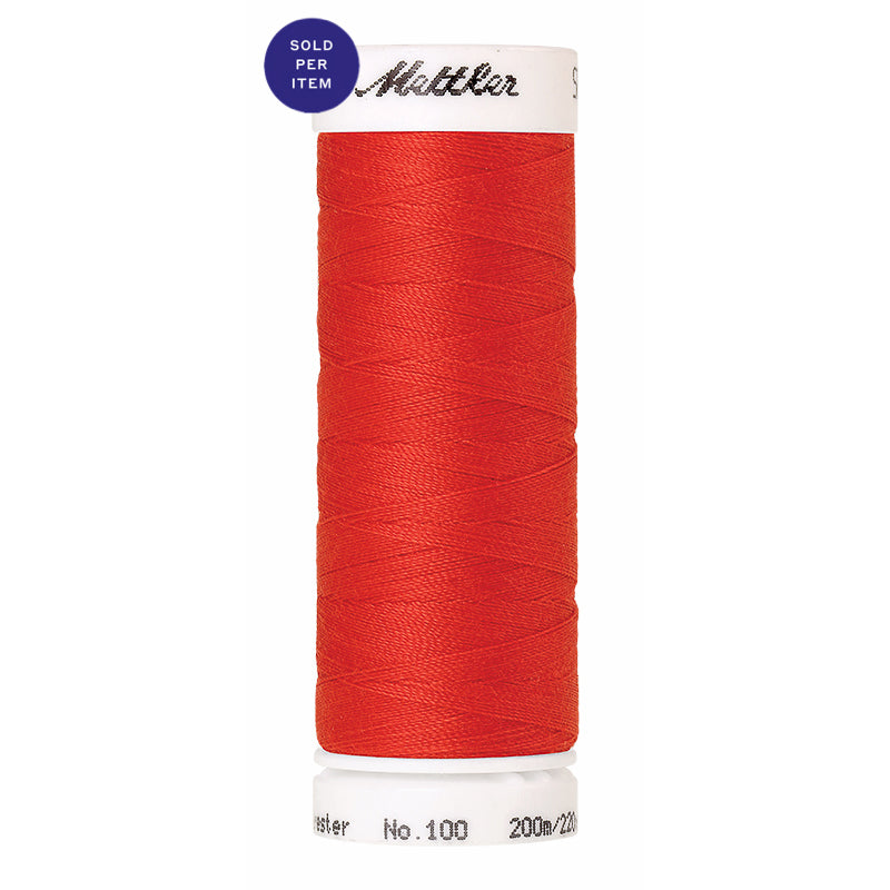 Sewing thread Seralon 1458 Poppy