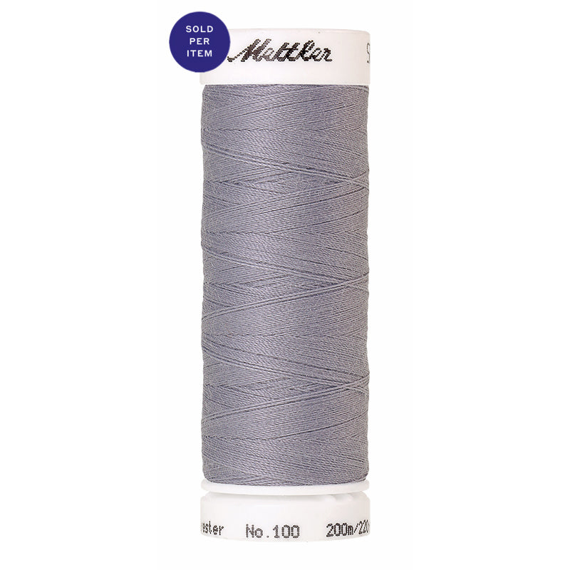 Sewing thread Seralon 1462 Silvery Grey