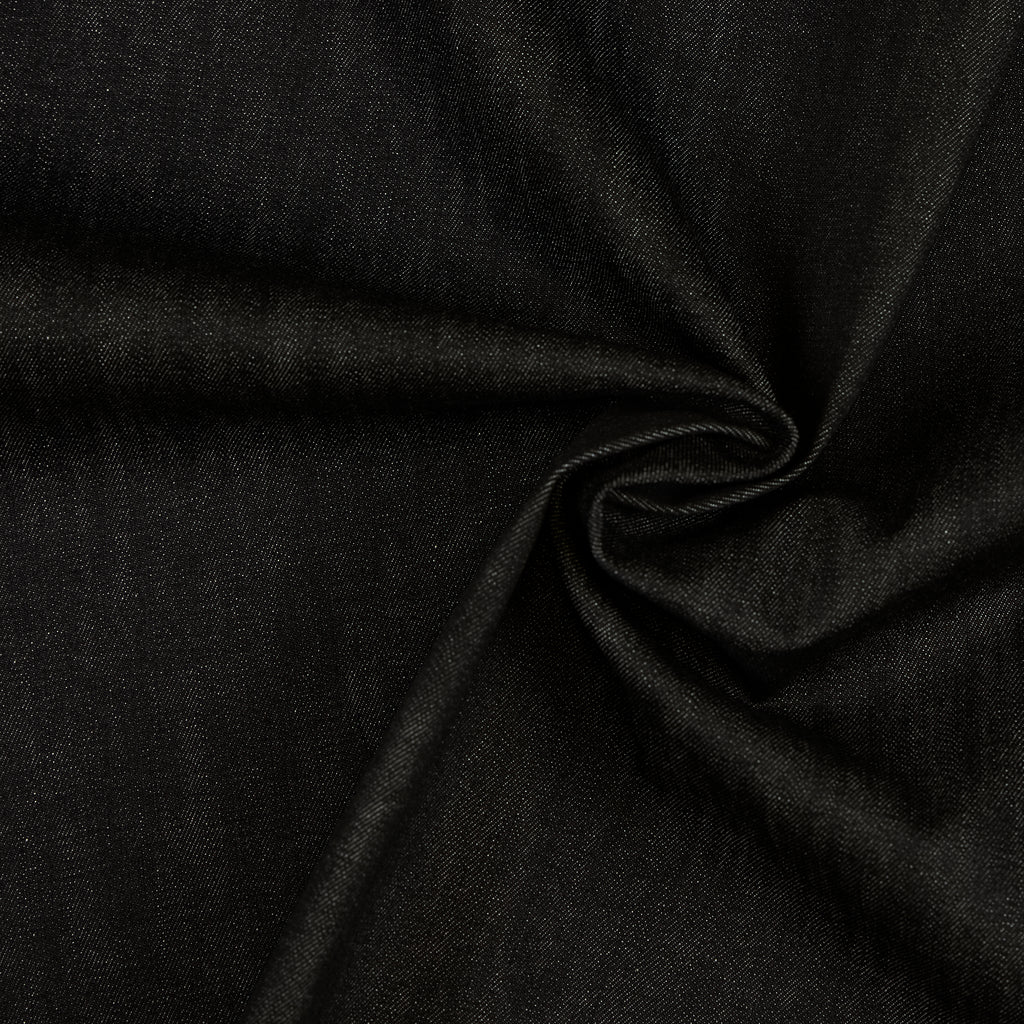 Tobias Black Denim Cotton Stretch