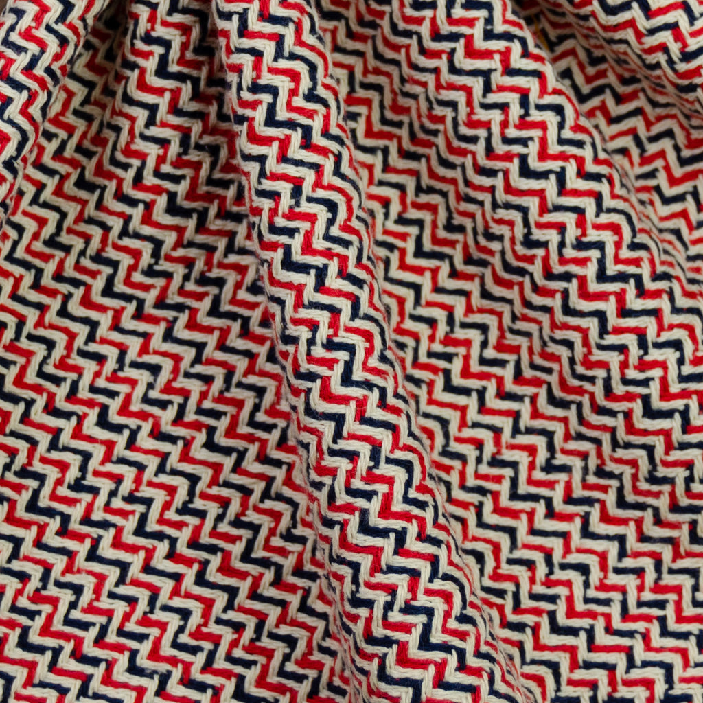 Damani Multicoloured Geometric Print Cotton