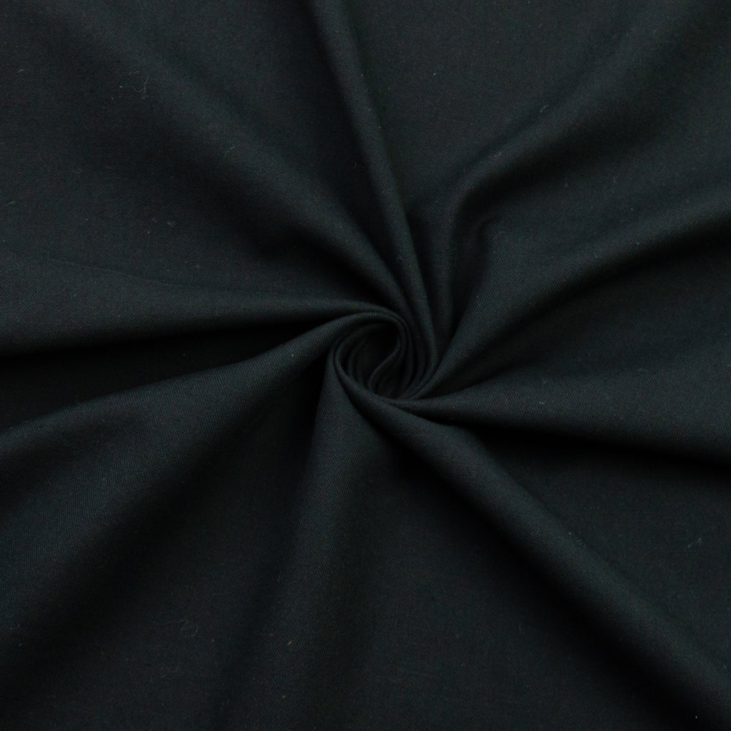 Jael Black Cotton Linen